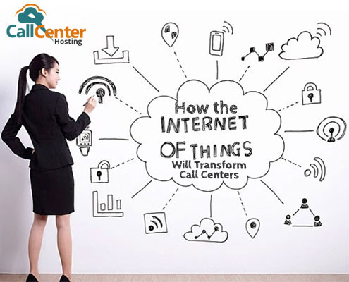 Internet of Things Call Centers