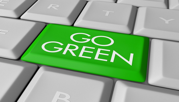 Cloud Contact Center is a Green Solution