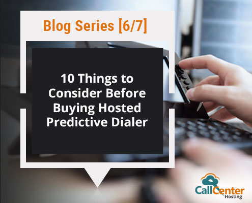 Checklist While Buying Hosted Predictive Dialer