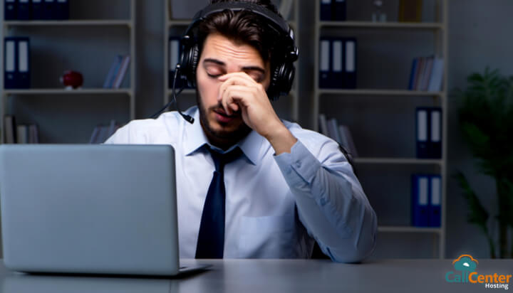 6 Tips for Handling Stress at Call Center