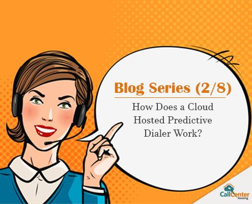 Working of Cloud Predictive Dialer