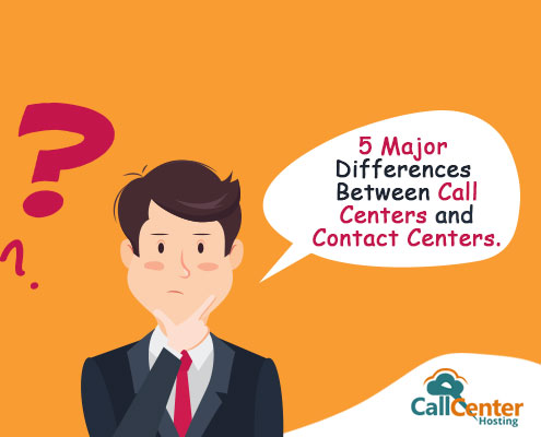 Comparison Between Call Centers and Contact Centers