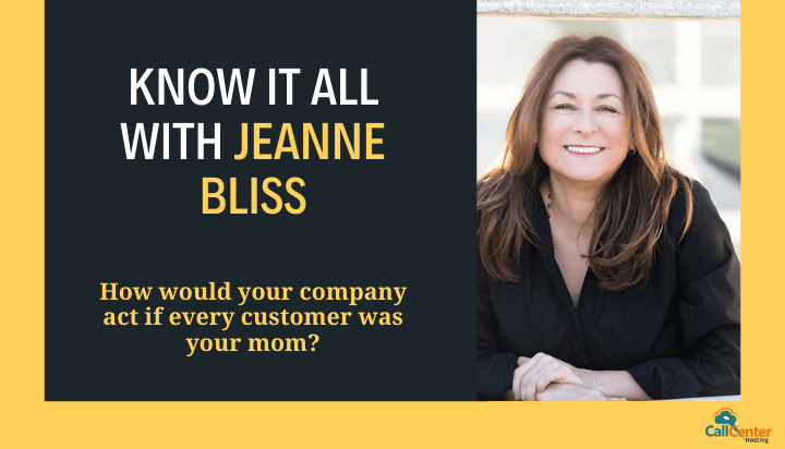 Know It All With Customer Service Expert Jeanne Bliss