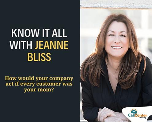 Customer Service Expert Jeanne Bliss Interview