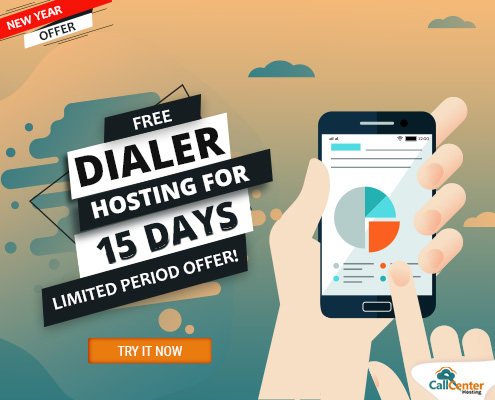 New Year Offer From CallCenterHosting: 15 Day Free Hosted Dialer