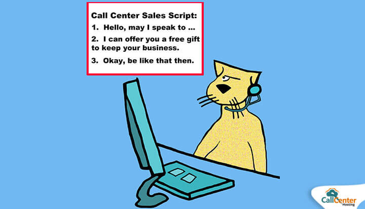 Agent Using Telecalling Scripts