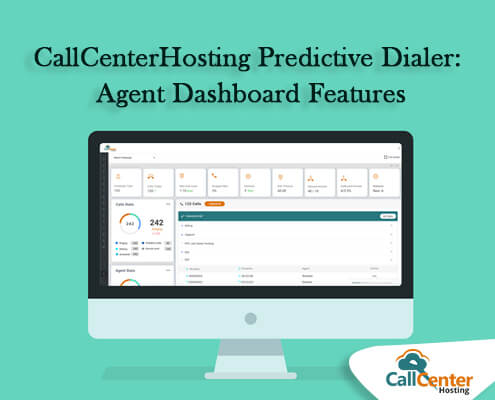 CallCenterHosting Predictive Dialer Agent Dashboard Features