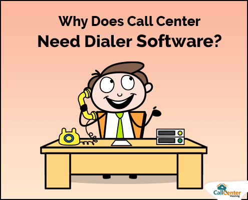 Need of Call Center Dialer Software