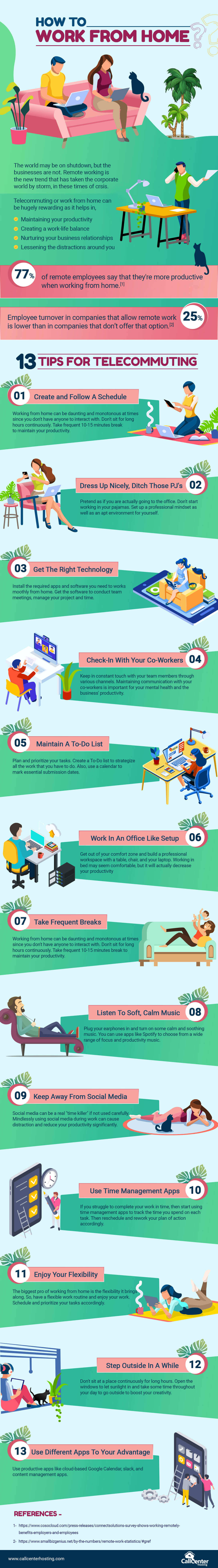 Tips For Telecommuting To Work From Home