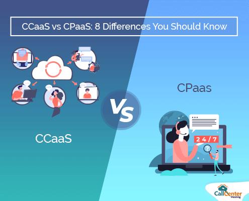 CCaaS vs CPaaS