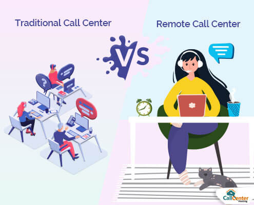 How Traditional Call Center is Different From Remote Call Center