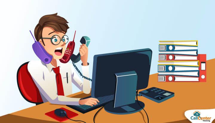 Agent Handling Multiple Calls