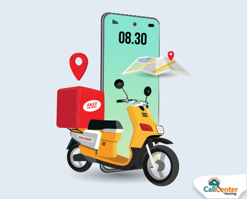 cloud communication in food delivery