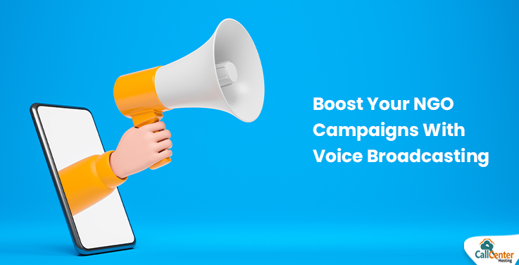 Boost your NGO Campaigns with Voice Broadcasting