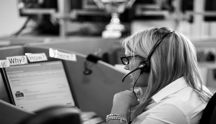 call center environment