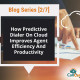 predictive dialer improving agent efficiency